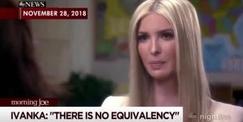 Hmm, Ivanka Sounds Just Like Hillary