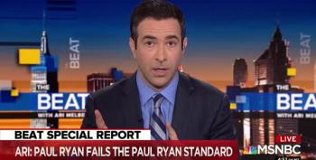 Ari Melber On Paul Ryan's 'Legacy': 'Shoddy, Hypocritical And Embarrassing'