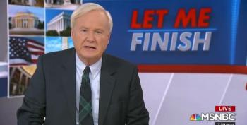 Chris Matthews Weakly Acknowledges Glaring Bush Funeral Screw-Up