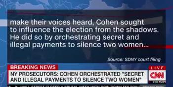 SDNY: Cohen And Trump Committed Crimes, 'Sought To Influence Election From Shadows'