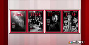 Journalists Under Fire Are Time's Person Of The Year