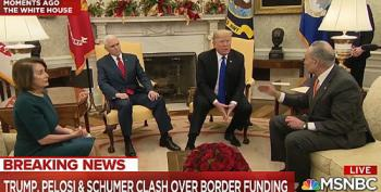 Nancy Pelosi And Chuck Schumer School Trump On Border Wall In Televised Presser