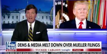 Tucker Carlson Turns Michael Cohen's Crimes Into Trump's Mistresses' 'Extortion'