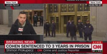 CNN Reports: Michael Cohen Gets Three Years In Jail