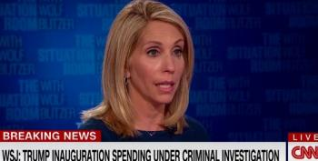 Dana Bash Smacks Trump's Alleged Sleazy Inaugural Fundraising: 'As Swampy As It Gets'
