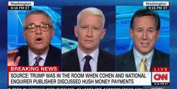 Oh No He Didn't! Jeff Toobin Attacks Santorum's Trump Hypocrisy