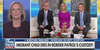 After Migrant Child Dies In Border Patrol Custody, Kirstjen Nielson Coldly Says Don't Cross Illegally