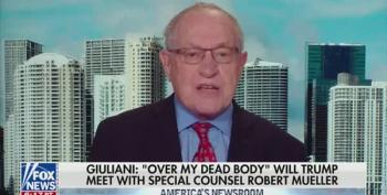 Alan Dershowitz Says Lying To FBI Isn't A Crime