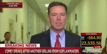 James Comey Shames Republicans, Absolves Himself