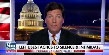 Tucker Carlson Rants About Immigrants Leaving Garbage In The Desert