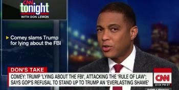Don Lemon Rips Into 'Law And Order President' Trump