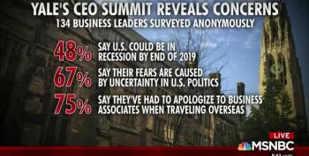 Survey: 75% Of American CEOs Are 'Personally Apologizing' For Trump