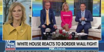 Fox And Friends Was Not Kind To Kellyanne Conway On Failure To Fund Trump's Border Wall