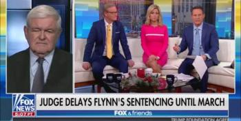 Newt Gingrich Whines: Judge Sullivan 'Went Off The Deep End'