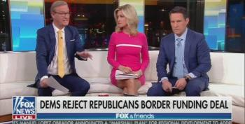 Fox And Friends Admits Nancy Pelosi Got The Better Of Trump On The Wall: 'She Was Right'