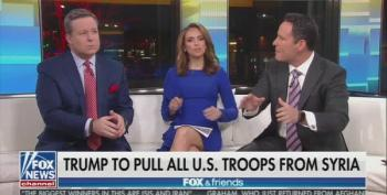 Fox And Friends Host Excoriates Trump's Unexpected Claim He 'Won Against ISIS'