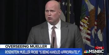 After Matt Whitaker Told To Recuse From Mueller Oversight, He Refuses