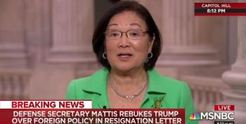 Senator Hirono Calls Bullsh*t In Advance Of Trump Shutdown Spin