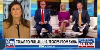 Brian Kilmeade Goes Off On Sarah Sanders: 'Trump Re-Founded Isis'