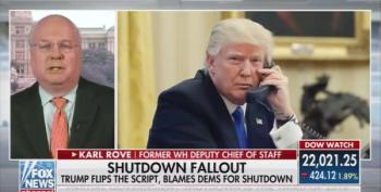 Karl Rove: Trump Loses More On The Government Shutdown