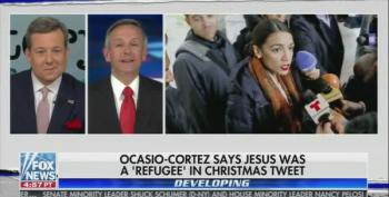'Pastor' Robert Jeffress And Ed Henry Bash Alexandria Ocasio-Cortez