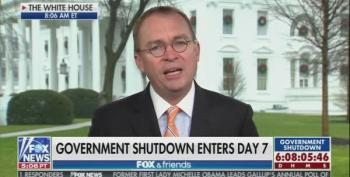 Mick Mulvaney Looking For Pelosi And Schumer To Offer A 'Deal'