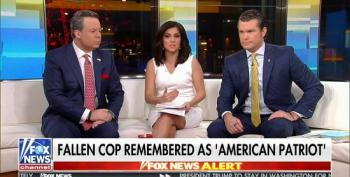 Fox Immediately Politicizes The Death Of CA Police Officer