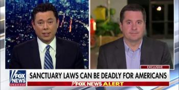 Fox Allows Devin Nunes To Fearmonger Over Undocumented Immigrant While Ignoring Family's Hiring Practices