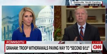 Lindsey Graham Attacks Obama For Honoring Iraq Status Of Forces Agreement: 'A Bunch Of Bulls**t!'