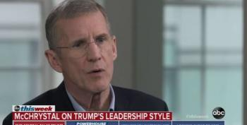 Stanley McChrystal: President Trump Immoral, Doesn't Tell The Truth