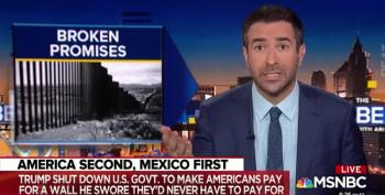 Ari Melber Calls Out Pundits For Letting Trump Break Wall Promises Unchallenged