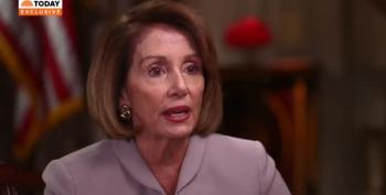 Pelosi: 'Open Question' On Whether A Sitting President Can Be Indicted
