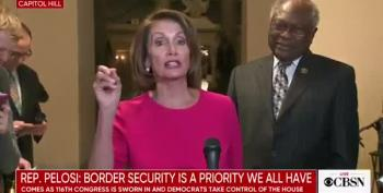 SPEAKER Pelosi Shreds Trump: Wall Is Between Reality And His Supporters