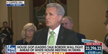 Rep. Kevin McCarthy Cries Over Rashida Tlaib, Lies That R's Rebuked Trump's Language