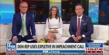 Fox And Friends Feign Concern Over Democrat's Lack Of 'Civility'