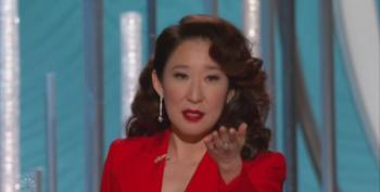 Sandra Oh's 'Moment Of Change' At The 2019 Golden Globes