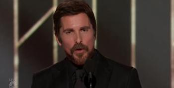 Right Wing Freak Out As Christian Bale Thanks Satan For Cheney