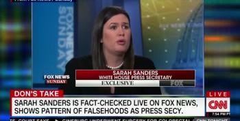 Don Lemon Tallies Up Sarah Sanders' Big Lies For Posterity