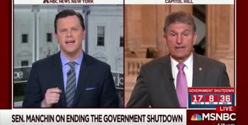 Sen. Manchin Twists Into A Pretzel Defending Trump As A Liar