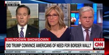 Rick Santorum Says Dems Need 'Political Courage' To Fund Wall