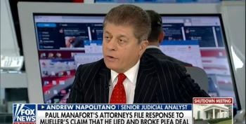 Fox's Andrew Napolitano: Mueller Can Prove Trump Campaign Collusion Without Manafort Testimony