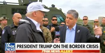 Hannity Thanks Trump For Calling Him 'Real News'