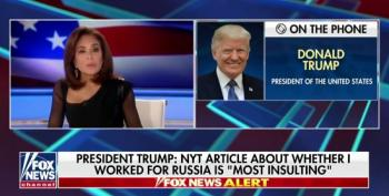 Trump Refuses To Deny He's A Russian Asset To Fox's Jeanine Pirro