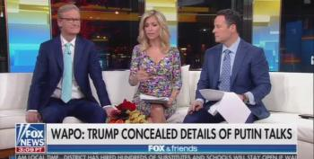 Fox And Friends Bogus Defense Why Trump Destroyed Transcripts Of Talks With Putin