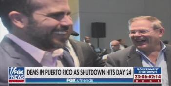 Even After Jeanine Pirro Apologized, Fox Keeps Smearing Democrats' Trip To Puerto Rico