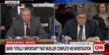 Sen. Lindsey Graham Channels Lou Dobbs, Demands Barr Investigate FBI Conspiracy Theories