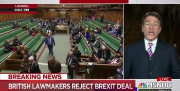 Theresa May's Brexit Deal Defeated By Historic Margin