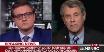 Sen. Sherrod Brown Announces 'Dignity Of Work' Tour In Early Primary States