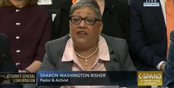 Charleston's Sharon Washington Risher Testifies At Barr Hearing