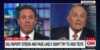 Giuliani To Cuomo: I Never Said 'No Collusion' But If I Did I Meant Anyone But Trump